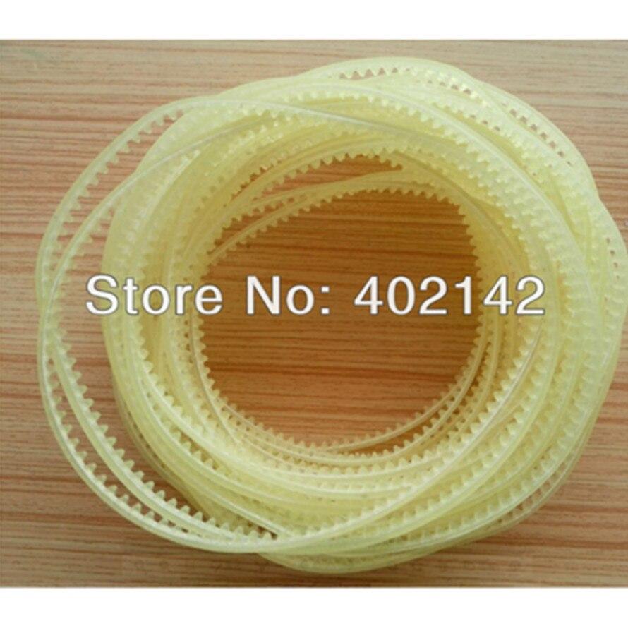 50pcs/lot 410cm Gear belt for FR-900 Continuous band sealer fr 770 baterpak band sealer teflon belt 770 15 0 2mm continuous band sealer solid ink band sealer 50pc bag high temperature tape