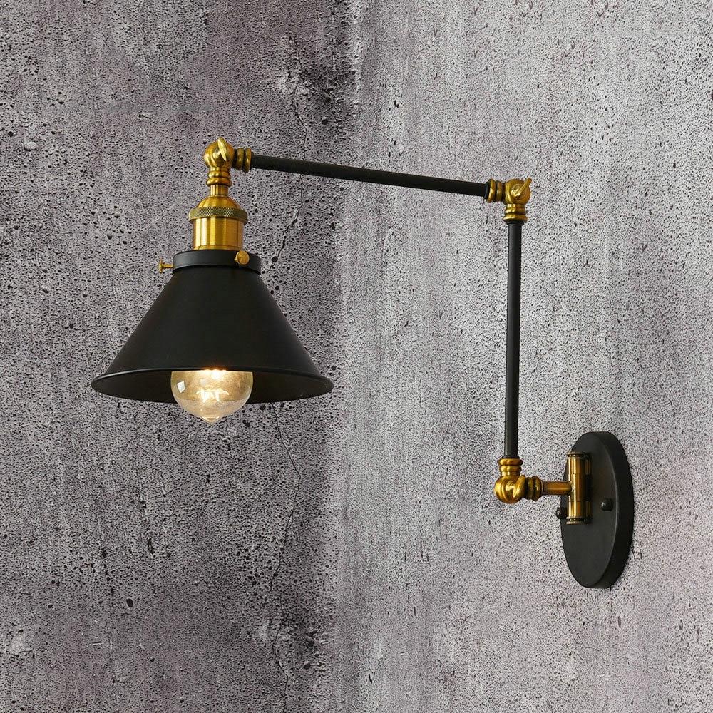 Vintage Loft Industrial Adjustable Sconce Wall Lights for ...