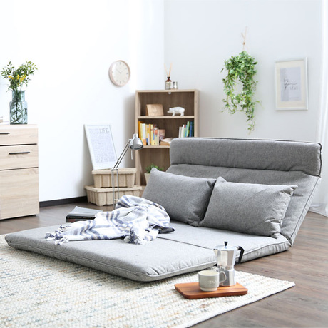 US $643.99 8% OFF|Living Room Sofas beanbag Home Furniture lazy sofa cama  bean bag chair Multi function double foldable sofa bed tatami 132*197cm-in  ...