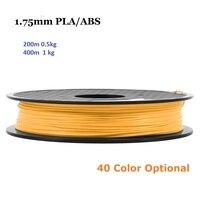 21 Màu 200 M/400 M ABS/PLA 1.75 MÉT In Filament 0.5 kg/1 kg 3D máy in Bút Filament Tiêu Hao Nguyên Liệu Cho 3 D Máy In Bút