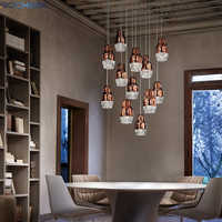 BOCHSBC Creative Design Chandeliers for Living Room Bedroom Dining Room Aisle LED Hanging Lamp Lighting Fixtures