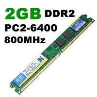 8 جيجابايت (4 قطع × 2 جيجابايت) DDR2-800MHz ram pc2-6400 ذاكرة ram desktop dimm 240pin 1.8 فولت amd cpu اللوحة غير ecc الكباش