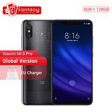Global Versie Xiaomi Mi 8 Pro 8 Gb 128 Gb Screen Vingerafdruk Snapdragon 845 Octa Core 6.21 Smartphone Dual Camera QC4.0 3000 Mah