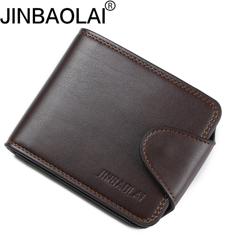 купить Small Men Wallets Credit Card Holders Zipper Luxury Brand Famous Handmade Leather Men Wallet Coin Pocket Male Purse Clutch Black онлайн