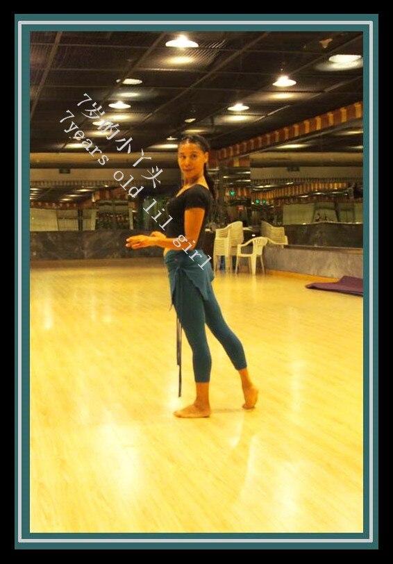 @1  Лайкра из хлопка племени Belly Dance йога обтягивающие брюки-капри с юбкой обтягивающие брюки узкие  ★