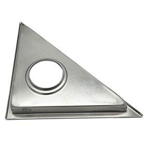 Image 3 - Recentemente Nascosta Tipo Triangolo Piastrelle Inserto di Scarico a Pavimento Griglie di Scarico della Doccia SUS304 In Acciaio Inox Scarico A Pavimento Accessori Per il Bagno