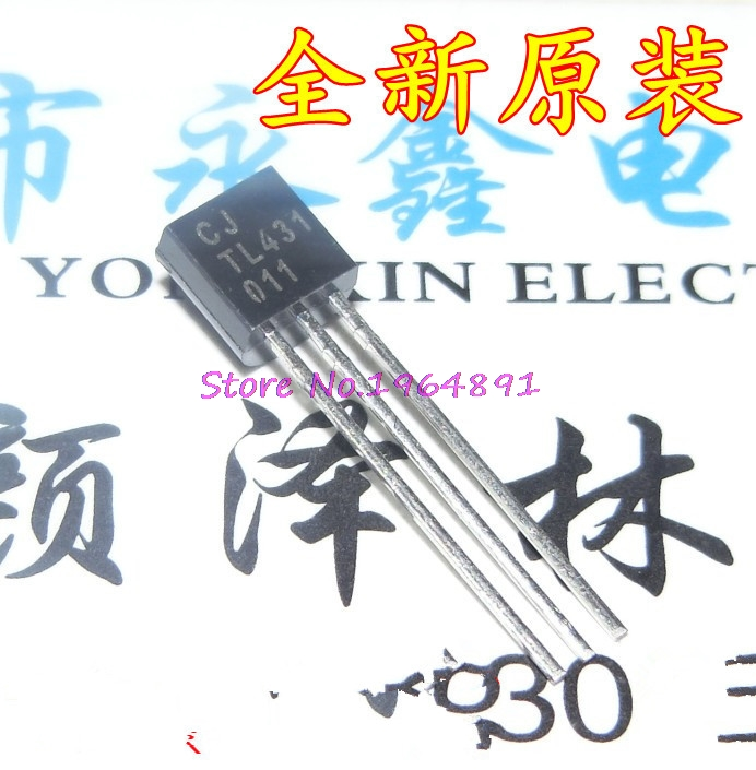 100pcs/lot TL431 TO92 TL431A TO-92 431 In Stock