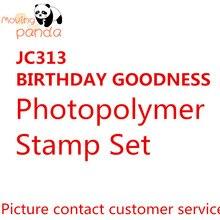 JC313 HAPPY BIRTHDAY Metal Cutting Dies and stamps 3D DIY Scrapbooking Carbon Sharp Craft Die Photo Invitation Cards