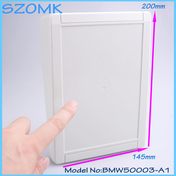 1 piece free shipping abs plastic box  super box small diy plastic enclosures  electricity meter box 200x145x64 mm 1 piece free shipping abs plastic
