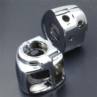 Aftermarket free shipping motor part For Motorcycle 2009 later Harley Dyna Sportsters Softail V Rod CHROME Switch Housings Cover