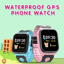 2019 DS61 Childrens Smart Watch Sim Card Color Touch GPS+WiFi+LBS Positioning Waterproof For Kids Boys Girls Gift