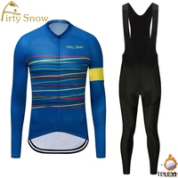 Firty Snow 2018 Winter Thermal Fleece Long Sleeves NW Cycling Jerseys Ropa Maillot Ciclismo Bicycle Bike