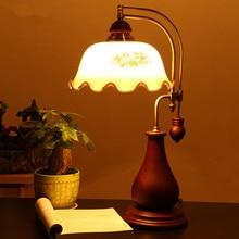 Декоративная настольная лампа E27 с регулируемой яркостью, светодиодный светильник, прикроватные светильники для дома