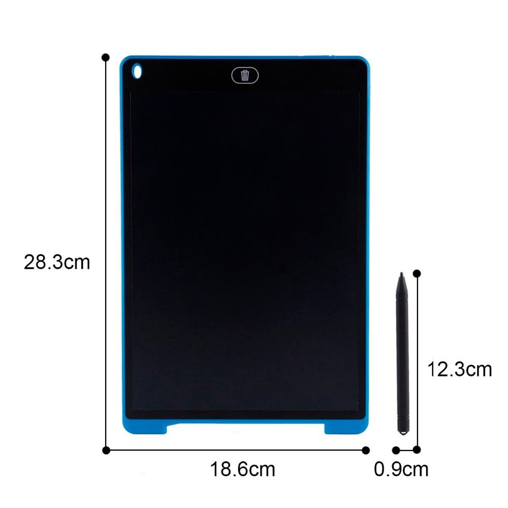 Игрушки для рисования 8,5 дюймов/12 дюймов ЖК-дисплей доска планшет стирание ультратонкий e-Writer планшет электронный безбумажный графический п...