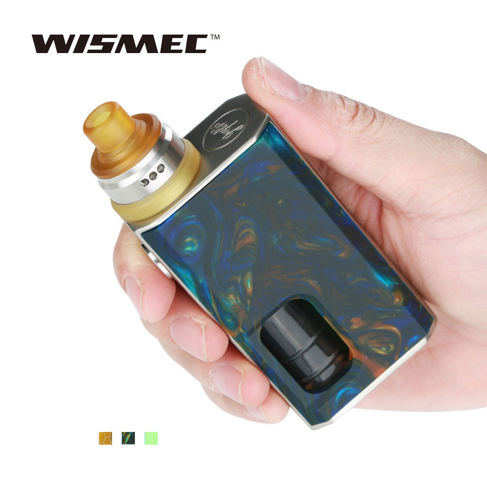 New Original WISMEC Luxotic Squonker Kit Tobhino BF RDA & 7.5ml Bottle 100W Output Luxotic Squonker Vape Kit No 18650 Battery жидкость besso vape fury gum new 30мл 0мг