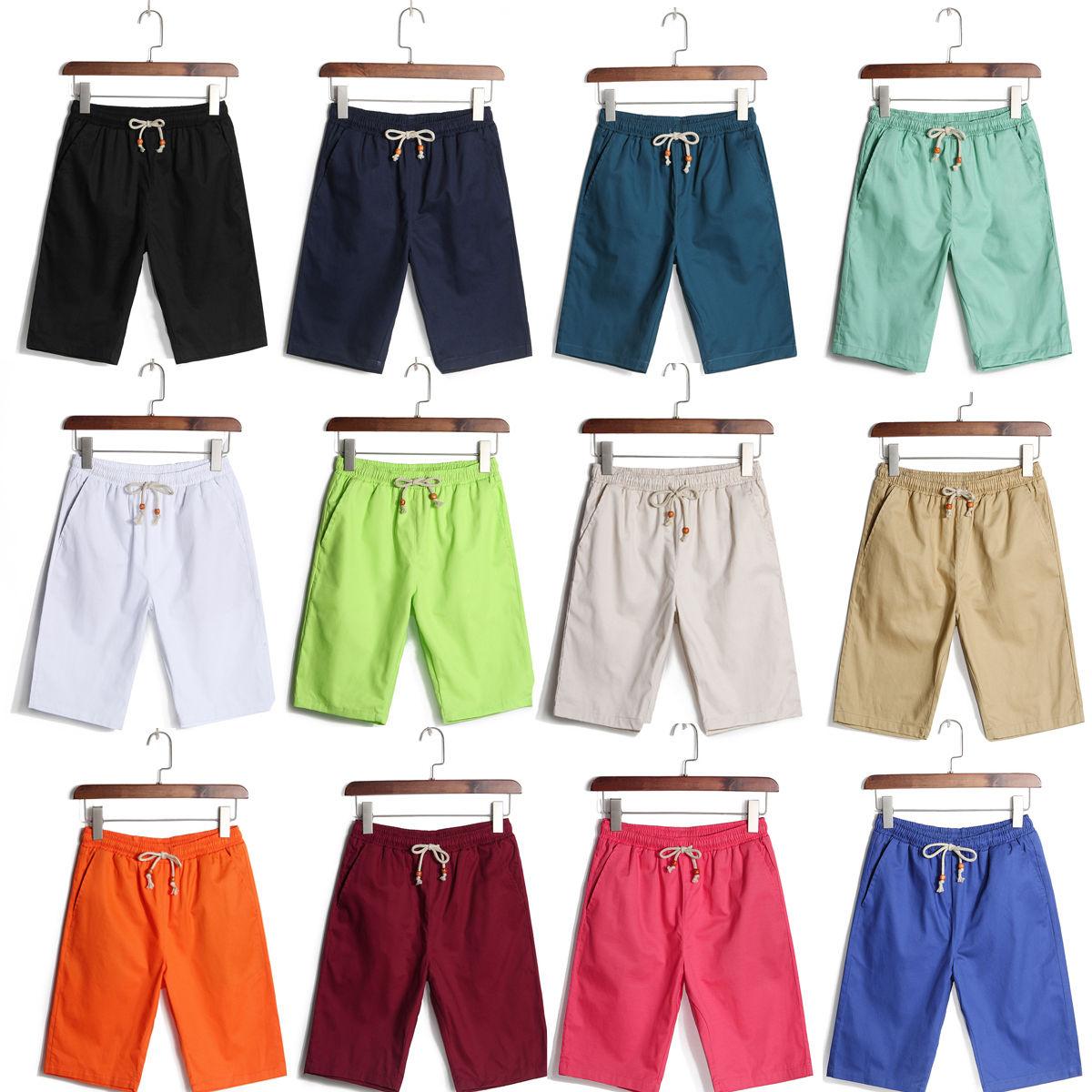 8d1a2e92cd Outdoor Sports Plain Men Boy Board Surf Swimming Swim Beach Shorts Trunks  Pants Holiday sport leisure