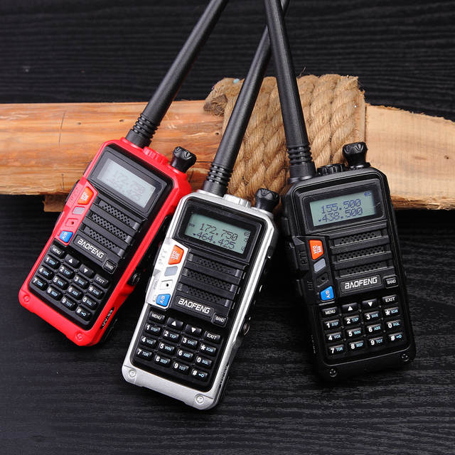 US $29 73 29% OFF 2019 BaoFeng UV S9 Powerful Walkie Talkie CB Radio  Transceiver 8W 10km Long Range Portable Radio for hunt forest city upgrade  5r-in