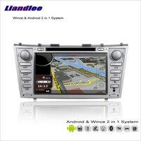 Liandlee автомобиля Android Мультимедиа Стерео для Toyota Aurion xv40/Camry 2006 ~ 2012 Радио CD dvd плеер GPS навигация Аудио Видео