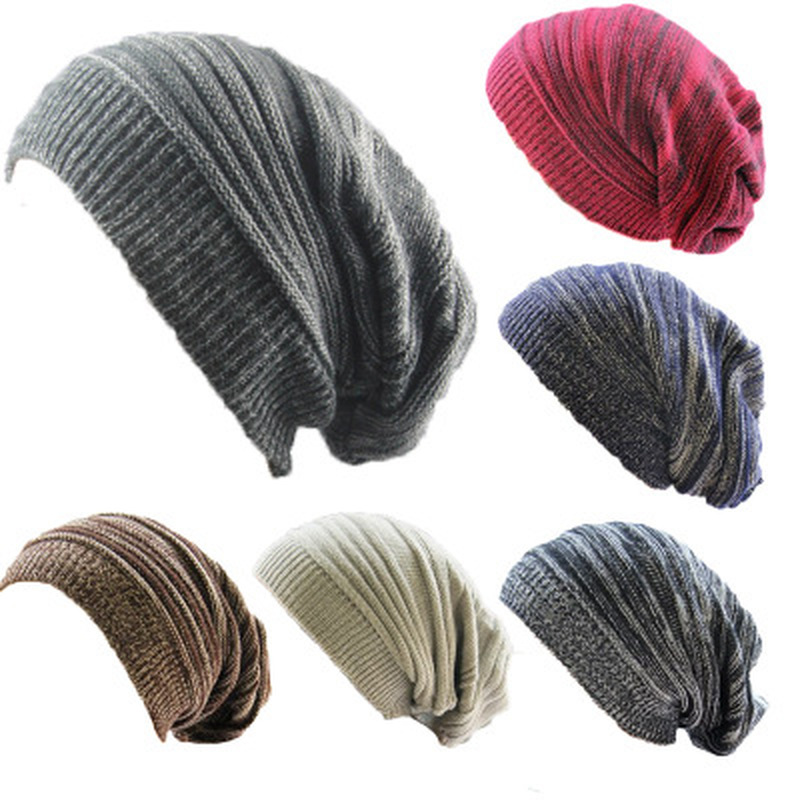 Soft Rabbit Double Knitting Thick Bonnet   Beanie   Caps Solid Warm Winter Hats for Women's Cap   Skullies     Beanies   Female Hat