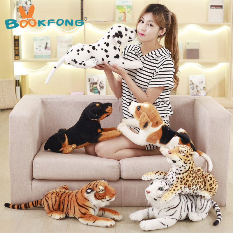 BOOKFONG Personality Cartoon Spotted Tiger Simulation Animal Plush Tissue Paper Box Plush Toys Stuffed Toy stuffed big animal plush tiger toy simulation tiger doll birthday gift 85cm