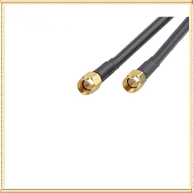 2 * 22dBi extérieur 4G LTE MIMO antenne, LTE double polarisation panneau antenne SMA-mâle connecteur (blanc ou noir) 10 M câble - 4