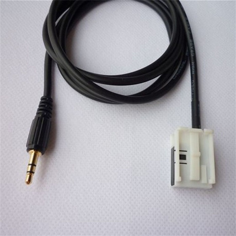 HOT SALE 3 5mm font b AUX b font Audio Input Cable For Volkswagen Tiguan Golf