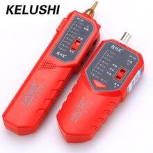 KELUSHI  NF-168 Cable tester tracer fault locator 8P4C 8P8C UTP/STP RJ45 RJ11 BNC with anti-interference ability 1PCS/LOT