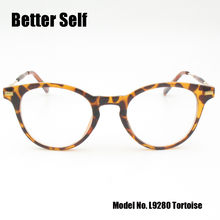 Better Self L9280 Tortoise Eyewear Clear Lens Eyeglasses Vintage Myopia Glasses Women Nerd Optical Frame