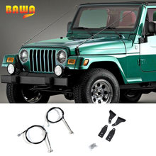 Защитные рамы bawa для jeep wrangler tj 1997 2006 съемные барьеры