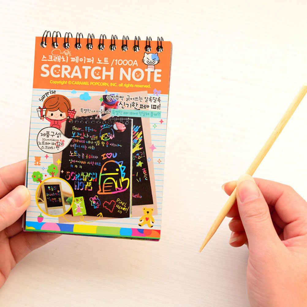DIY Đầu Lưu Ý Các Tông Màu Đen Vẽ Phác Thảo Ghi Chú cho Trẻ Em Đồ Chơi Trường Máy Tính Xách Tay Nguồn Cung Cấp