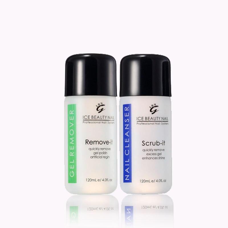 Professional Moisturizing Formula Nail Polish Remover Scent  UV Gel  nail cleanser Liquid Nail Art nail tool