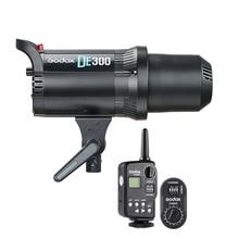 Godox DE300 300 W Compact Studio Flash Light Strobe Éclairage Lampe Tête Caméra Flash Monolight FT 16 Émetteur FTR 16 Récepteur