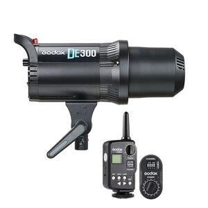 Image 1 - Godox DE300 300 Wát Nhỏ Gọn Studio Flash Light Strobe Chiếu Sáng Đèn Head Máy Ảnh Flash Monolight FT Transmitter FTR 16 Receiver