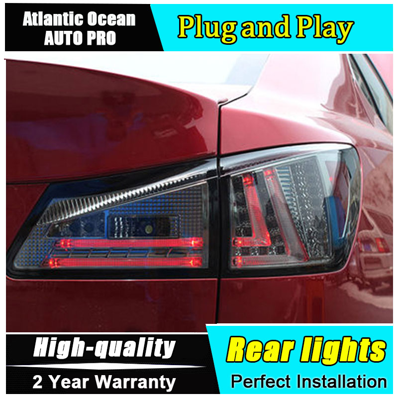 Car Styling for Lexus IS250 LED Taillights 2006-2012 for IS300 Tail Lamp Rear Lamp Fog Light DRL+Brake+Park+Signal lights led цена в Москве и Питере