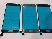 Ekvinor 10 sztuk oryginalna wymiana LCD na ekran dotykowy szklany zewnętrzny obiektyw do Samsung Galaxy S7 G930 G930A G930F G930T