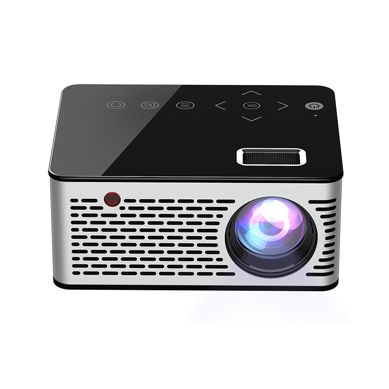 Hot New LED Mini Projector HD Portable HDMI USB AV Support Power Bank Charging For Home HY99 JA09