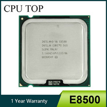 Intel Core 2 Duo E8500 Prosesor SLB9K Slapk 3.16 GHz 6 MB 1333 MHz Socket 775 CPU(China)