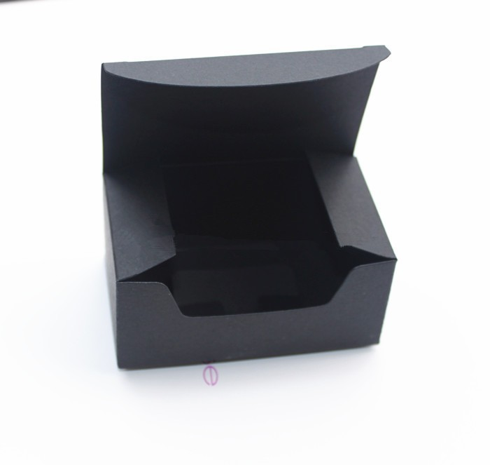 black kraft paper craft gift Box Handmade Soap Boxes 9 3 5 7 4cm 200piece lot