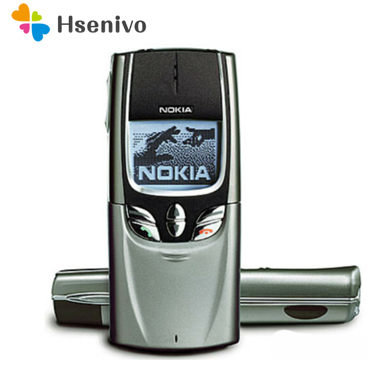 8850 100% Original Unlocked Nokia 8850 GSM One Sim Card Mobile Phone One Year Warranty Free Shipping