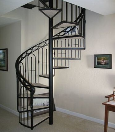 Simple Stairs Design Log Custom Spiral Staircase Steps Replacing Wood Renovation