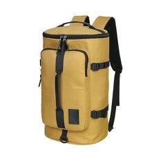 Большой Ёмкость открытый мешок желтый Оксфорд Водонепроницаемый рюкзак высокое Класс дорожная сумка Пеший Туризм Восхождение Рюкзаки многофункциональная сумка