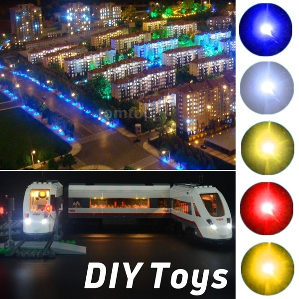 1206 SMD model train HO N OO scale Pre soldered micro litz wired LED leads in Model Building Kits from Toys Hobbies