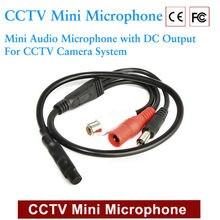 JORANK 4 шт. прием звука CCTV Микрофон широкий диапазон камера микрофон аудио мини микрофон с выходом постоянного тока для система Скрытого видеонаблюдения цифровая видеозапись