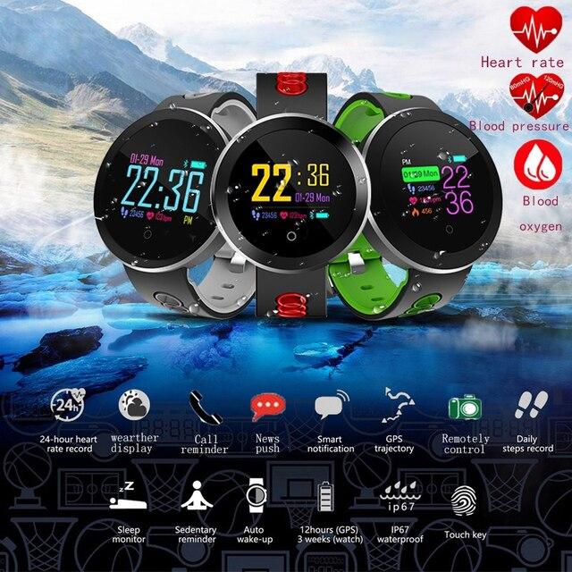 044a9de94 Intelligent Heart Rate Watch Men Or Women Multifunction Calling Music  Sports Smart Watch Men Q8pro For