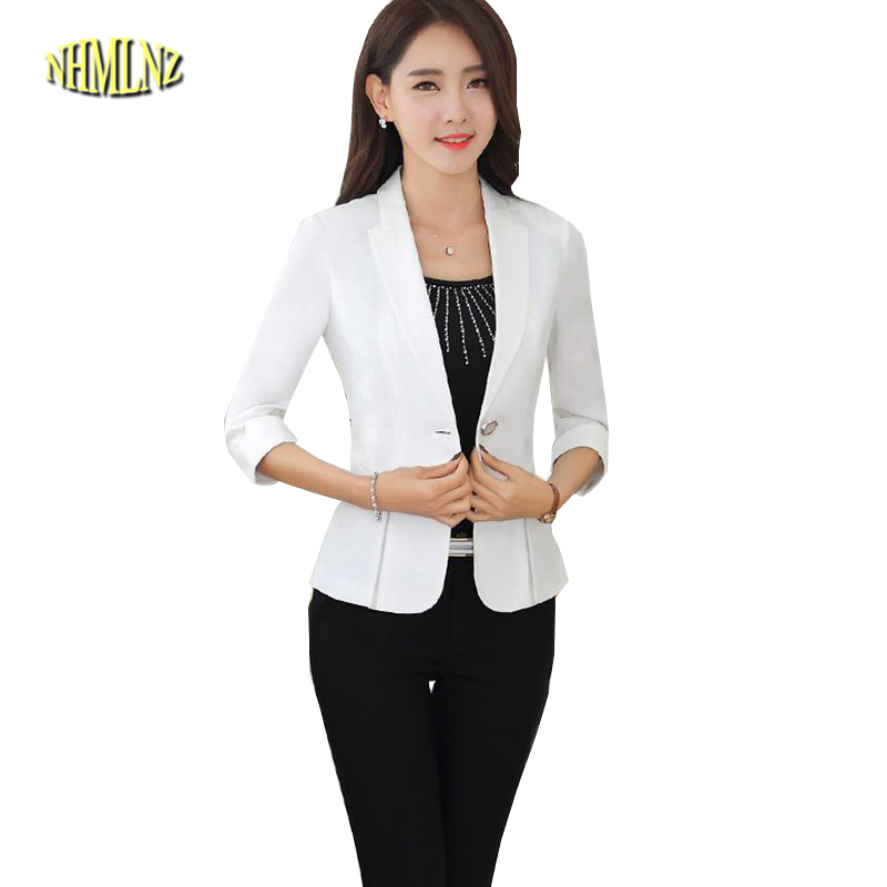 details for detailing customers first US $25.9 55% OFF Women Autumn Suit Latest Style Career Suits High quality  Pure color Long sleeve Small Suit Large size Ladies Office Suit G2692-in ...