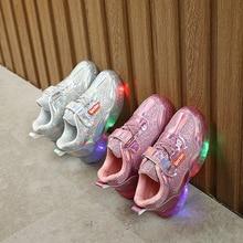 Shoes Laser-Sneakers Toddler Children's Led-Lights Boys Kids Girls New-Fashion Autumn