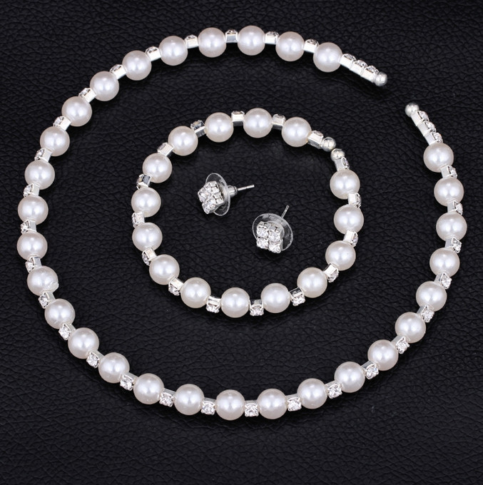 Fashion Wedding Bridal Jewelry Set 8