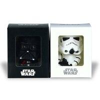 2pcs Star Wars Darth Vader Stormtrooper Bobblehead Car Decoration Action Figure PVC Clone Trooper Toy GIft