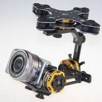 DYS 3 оси Бесщеточный gimbal W/32 бит Alexmos контроллер КУП и DYS 4108 двигатель для Panasonic Nex5, nex7 FPV аэрофотосъемки