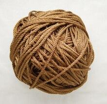 Free shipping 10mtrs/Lot Vintage Copper 3mm Nylon Braide Persian Cord Macrame&Craft Yarn